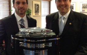With Daytona 500 Winner Jimmie Johnson