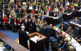 Swearing In Ceremony In the Florida House